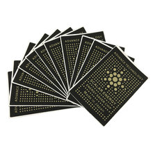 200pcs Cell Phone Anti Radiation Stickers Advance Technology Shield High Quality Factory Price 50pcs In An Opp Bag