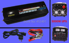 Free Shipping  3000W UPS Power Inverter 220V 12V 3000w  Inverter With Battery Charger+UPS function