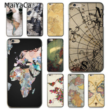 Buy MaiYaCa Stylish World Map Travel Plans Newest Fashion Luxury phone case iPhone X 6 6s 7 7plus 8 8Plus 5 5S 5C mobile cover for $1.45 in AliExpress store