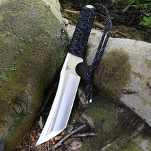 voltron Self-defense military knife, outdoor knife high hardness straight knife, wilderness survival saber, special battle knife