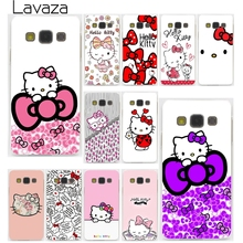 Lavaza Fashionable Hello Kitty  Hard Case Cover for Samsung Galaxy A3 A5 J3 J5 J7 2015 2016 2017 & Grand Prime Note 5 4 3 2