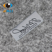Free Design Customized 500pcs/lot High density woven labels with super sonic cut edges foe clothing labels / shoes main labels(China)