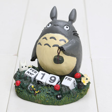 My Neighbor Totoro Calendar Model Toys PVC Action Figure Japanese Cartoon Anime Children Gift(China)