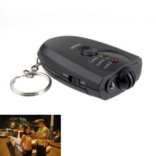 New Professional Styling Portable Keychain Design LED Alcohol Breath Tester Breathalyzer Alcohol Analyzer Diagnostic Tool Hot(China)