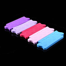 20pcs(=10pairs) EVA Foam Toe Separator Finger Nails UV Gel Polish Nail Tool Pedicure Heart Design Salon DIY Nail Care Manicure