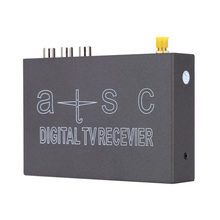 ATSC/NTSC Mini Decoding Mobile Car Digital TV Box  Channel Receiver USB2.0 RCA MPEG MPG MOV Set Up TV Box All use