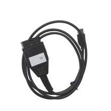latest retail for FIAT KM TOOL OBD2 cable adapter mileage tool for FIAT KM TOOL OBD2 tool Programmer for FIAT KM TOOLOBD II(China)