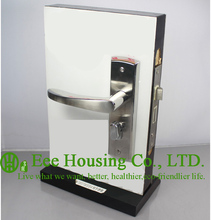 Free Shipping,Stainless Steel handle door lock, mortise lock for Interior Doors, Timber Door Hardware from China