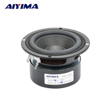 Aiyima Audio Tweeter Loudspeakers 3Inch 4 Ohm 15W Fever Full Range 2.1 Unit Sound Box Transparent Professional Hifi Speakers(China)