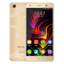 OUKITEL C5 Pro 4G 5.0 inch Smartphone Android 6.0 MTK6737 Quad Core 1.3GHz Cellphone 2GB+16GB Dual Cameras 1280x720 Mobile Phone(China)