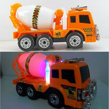 Large Truck Cement Mixer Toy Car 1: 22 Boys Truck Cement Mixer Toy Car Non-Remote Controlled Engineering Toys Vehicles