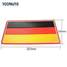 YCCPAUTO Car Sticky Silicone Anti-Slip Dashboard Pad Non Slip Mat For Phone Sunglass Holder 14.5x26cm Germany Black Red Yellow(China)