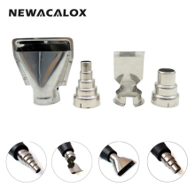 NEWACALOX 4PCS/lot Heat Gun Nozzles Electric Kit Accessories DIY  Industrial Hot Air Gun  Tools Shrink Wrap