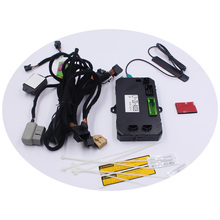 PKE Keyless Entry Car Engine Ignition Starter One Push Button Start System for Audi A4L/allroad quattro