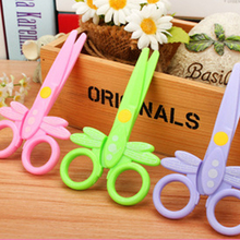 (3 pieces/lot) Paper Cutting Crafts For Kids Scissors Card papeles de manualidades Children Paper Cutter For Scrapbooking