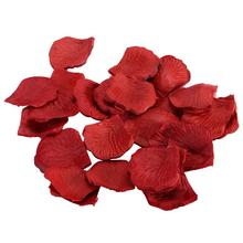 10 Pack Fake Rose Petals Artificial Wedding Flower Decoration Artificial Flower Petals Wedding Decor Supplies(China)