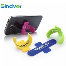 Sindvor Phone Holder Universal Portable Moblie Phone Stand One Touch U Mini Silicone Holder For iPhone 8 X 6 7 Samsung Tablet PC
