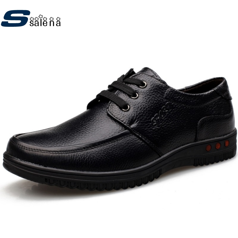 Men Leather Shoes Classic Male Oxford British Style Men Business Shoes Fashion Leather Men Casual Shoes Size38-44 #C387<br>
