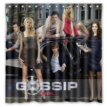 Gossip Girl Shower Curtain Waterproof Fabric Curtain For The Bathroom Polyester Bath Screen Shower Room Product 180x180cm