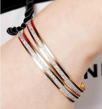 New Luxury Gold Silver Plated Statement Strings Wristband Cuff Shiny Circles Scrub Bangles Bracelets Women Bride Weeding Jewelry
