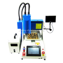 Automatic Iphone Chip Removal Machine, IPhone IC Router LY 1001, IC engraving machine with CCD system to Russia no tax