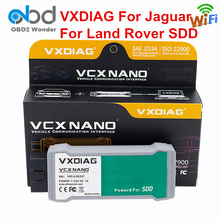 Professional VXDIAG VCX For Jaguar For Land Rover Diagnostic Tool USB WIFI VXDIAG JLR Software SDD 145 For Diesel Benzine Cars