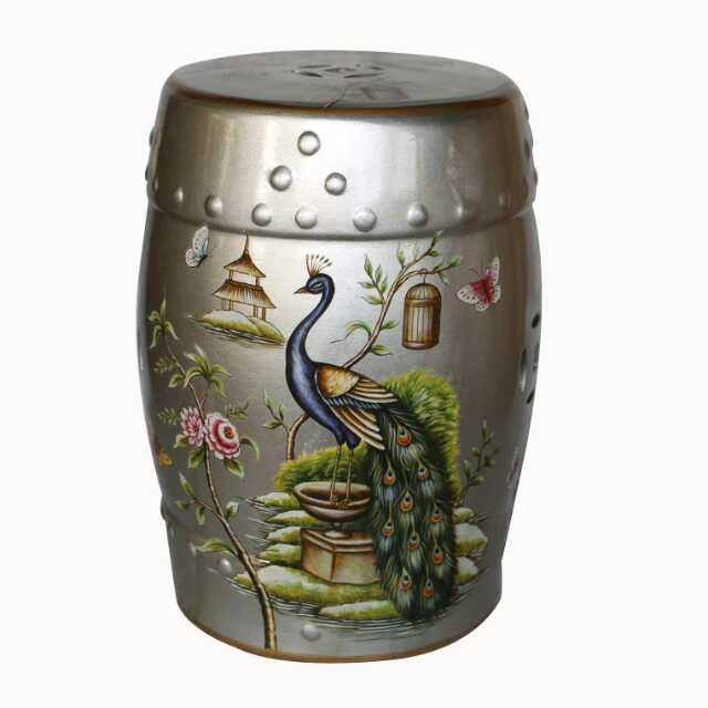 Silver Art Jindezhen dressing table ceramic garden stool Chinese ceramic drum stool bathroom glazed garden stools  sc 1 st  AliExpress.com & Compare Prices on Gardeners Stool- Online Shopping/Buy Low Price ... islam-shia.org