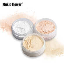 Brand New long lasting loose powder makeup translucent powder oil-control natural ingredient setting powder brighten waterproof(China)