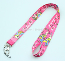 New 20Pcs Popular Tinkerbell  Logo Style mobile Phone lanyard Key chain Strap Charm Gift  Free shipping M14
