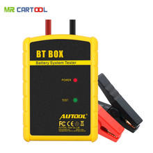 Promotion ! Battery Tester AUTOOL BT BOX Support Android/ISO Powerful Function Automotive Battery Analyzer