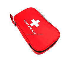 New Outdoor Travel Emergency Kit Medical first aid kits waterproof car first aid kit bag size 22*14*6CM Wholesale(China)