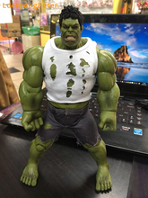 The Avengers Hulk Action Figure 1/8 scale painted figure Real Clothes Ver. Hulk Doll PVC ACGN figure Garage Kit Brinquedos Anime