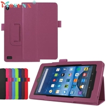 PU Leather Case Stand Cover For Amazon Kindle Fire HD 7 2017 Tablet DEC21