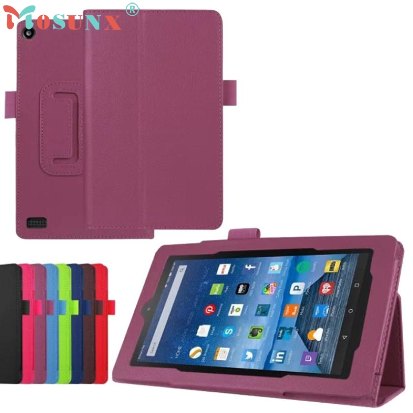 PU Leather Case Stand Cover For Amazon Kindle Fire HD 7 2017 Tablet DEC21(China (Mainland))