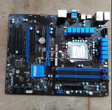 Free shipping 100% original motherboard for MSI B75A-G43 LGA 1155 DDR3 RAM 32G Motherboard Desktop Boards