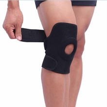 Elastic Knee Support Brace Kneepad Adjustable Patella Knee Pads Safety Guard Knee Support Brace Running Leg Guard Gym ship US(China)