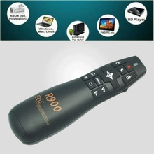 Rii R900 2.4GHz Wireless Mini Remote Control & Air Mouse & laser Pointer Presenter Combo for PPT HTPC Android TV Box PC Computer