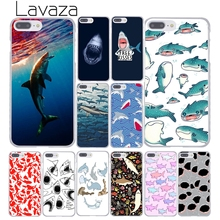 Lavaza ocean Whale Sharks fish Hard Coque Shell Phone Case for Apple iPhone 8 7 6 6S Plus X 10 5 5S SE 5C 4 4S Cover(China)