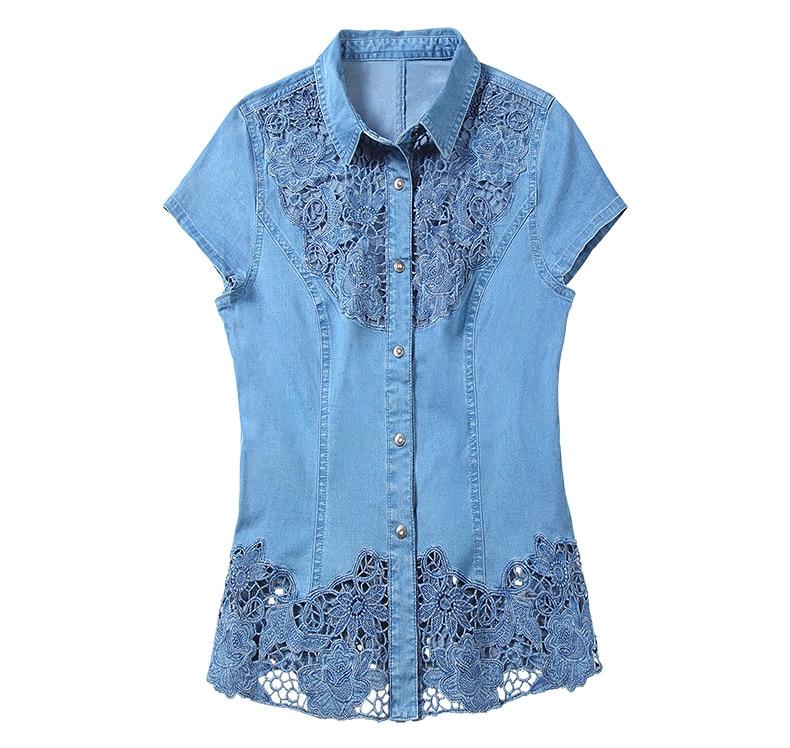 Lace Shirt Denim (11)