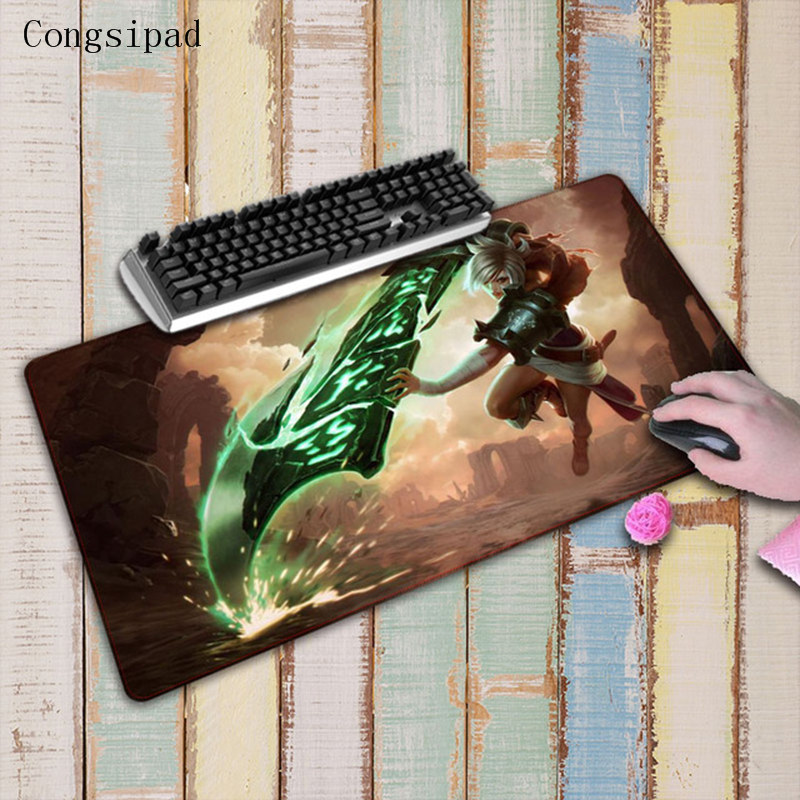 League of Legends KDA Mouse Pad Large Gaming Mat Keyboard Laptop Desk Locked Mat