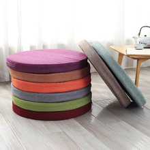 Sponge pad circle cushion seat pad  rattan chair seat cushion yoga mat customize cloth thickening
