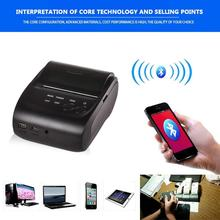 Wireless POS Printer 58mm Bluetooth Thermal Printer Receipt Printer thermosensitivel Bill Printer For Android Windows IOS