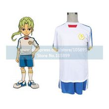 Inazuma Eleven Inazuma Japan Summer Soccer Uniform Cosplay Costume(China)