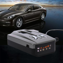 V9 12V Car English Russian Voice OEM Language. LED Display.Driving Safely Avoiding Fine.Laser Anti Radar Detector(China)