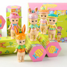 6pcs/box angel Cupid Easter & Halloween & Christmas &Animal series Doll Decoration with retail box many designs WJ02(China)