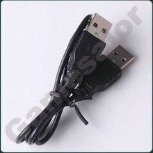 480 Mbps 2 ft USB 2.0 A MALE TO MALE EXTENSION CABLE Black
