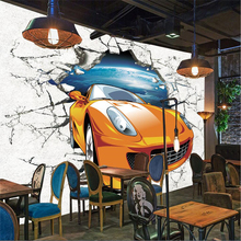 beibehang Custom photo wallpaper mural wall stickers variety of car theme sports car wall 3d backdrop wallpaper for walls 3 d