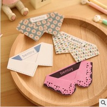 4x Creative Cute Kawaii Collar Style Elegant Bookmark Stationery School Supplies Student Gift Rewarding Prize 0916