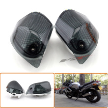 High Quality Turn Signals Indicator Light Blinker Lens Rear For KAWASAKI ZZR 400 600 ZX600E 1994-2004 smoke