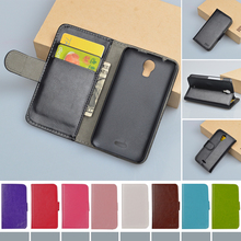 Leather case For Huawei Y336 Y3 Y3C flip cover case housing skin for Huawei Y 336 / Y 3 / Y 3C mobile phone covers cases
